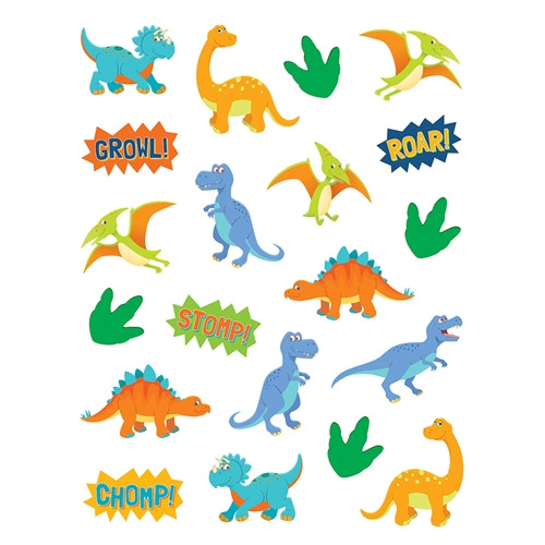 Dinosaurs Stickers - 1 in.