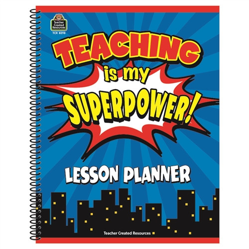 Teaching Is My Superpower Lesson Planner - 8.5 in. x 11 in.