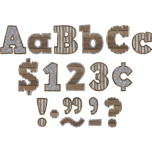 Home Sweet Classroom Bold Block Letters Combo Pack - 4 in.