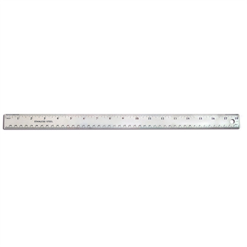 Stainless Steel Ruler - 18 in.