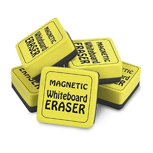Magnetic Whiteboard Erasers 12 Pk 2 in X 2 in