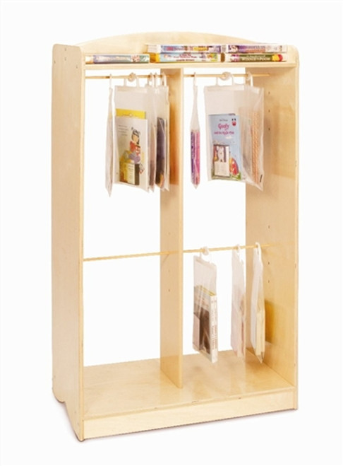 Hanging Bag Storage Unit - 16.5 in. × 29.75 in. × 49.5 in.