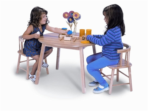 Table and Two Chair Set - 28 in. × 28 in. × 21 in.