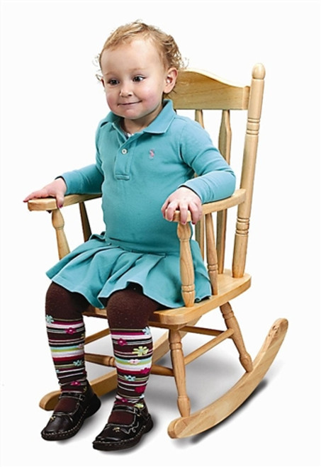 Child's Rocking Chair Import - 22 in. × 15.5 in. × 28 in.