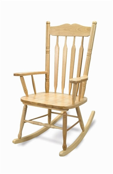 Hardwood Adult Rocking Chair Import - 24 in. × 22 in. × 43 in.