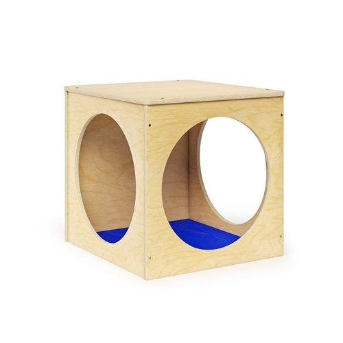 Toddler Play House Cube W/Floor Mat Set - 23.5 in. x 25 in. x 24 in.