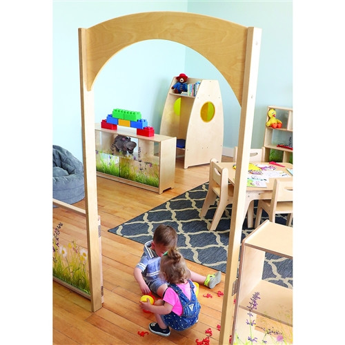 Nature View Room Divider Archway