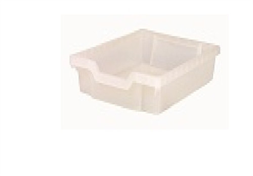 Gratnell Clear Shallow Tray - 17 in. × 12.5 in. × 3 in.