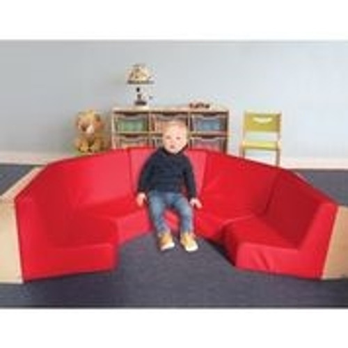 5 Section Reading Nook Includes Set Of 5 WB8010 Reading Nooks - 999 in. × 999 in. × 999 in.