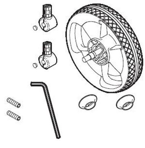 Front Wheel Complete 460 467 475 478