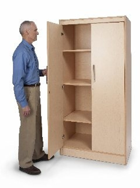 Tall and Wide Storage Cabinet - 27 in. × 36 in. × 72 in.