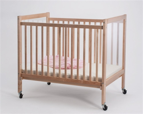 Infant Clear View Crib - 27 in. × 40 in. × 37 in.
