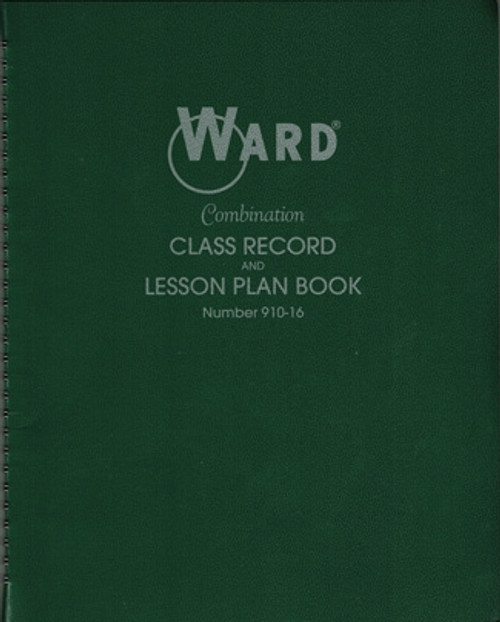 Class Record And Lesson Plan Combo Books