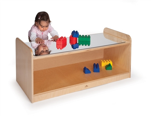 Play Table with Mirror Top - 41 in. × 17.5 in. × 16.5 in.