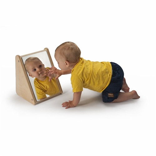 Infant Mirror Stand - 8 in. × 9 in. × 11.5 in.