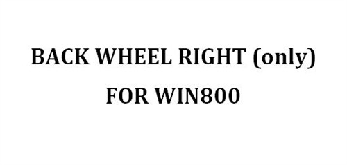 Back Wheel Right For Win800