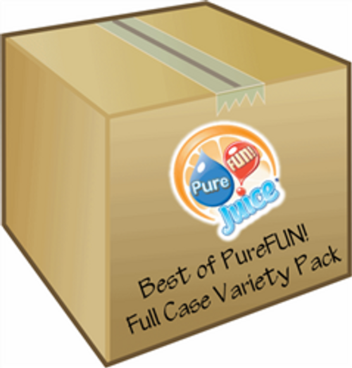 The Best of PureFUN!  Variety Pack 100%  Juice Blend Concentrate - FULL CASE