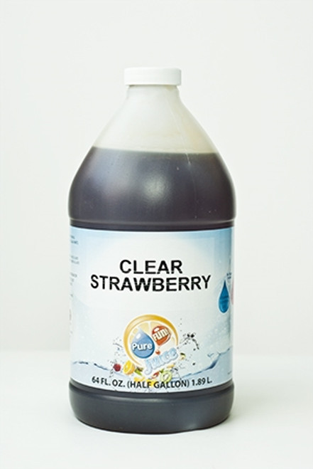 PureFUN! Strawberry Flavored 100% CLEAR Blend Concentrate