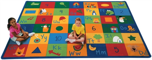 Learning Blocks Rectangle - 4 ft. 5 in. x 5 ft. 10 in.