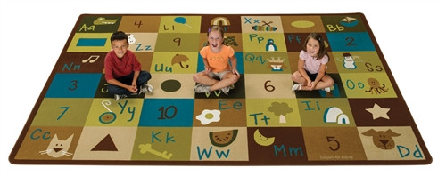 Learning Blocks Nature Rectangle - 8 ft. 4 in. x 11 ft. 8 in.