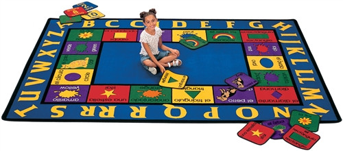 Bilingual Rug Rectangle - 8 ft.4 in. x 11 ft.8 in.