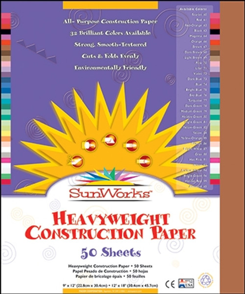 Construction Paper Brown - 9 in. x 12 in.