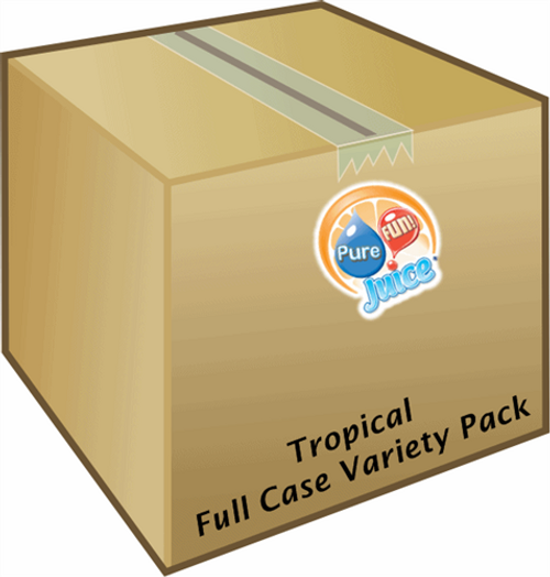Tropical Variety Pack 100%  Juice Blend Concentrate - FULL CASE
