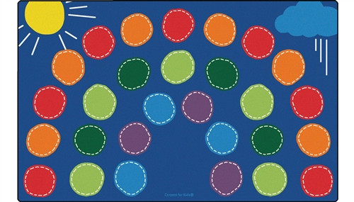 Rainbow Seating Rug Rectangle - 7 ft. 6 in. x 12 ft.