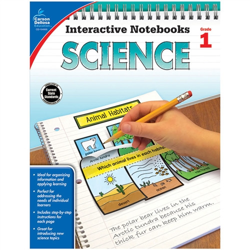 Interactive Notebooks Science Gr 1