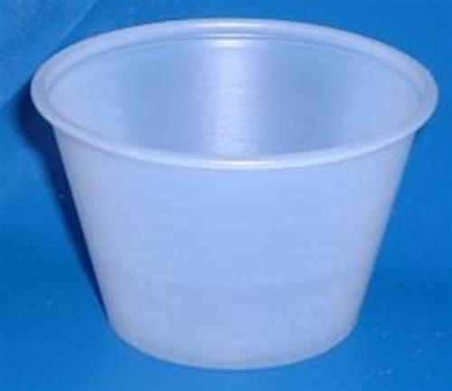 4 Ounce Disposable Plastic Souffle Cups
