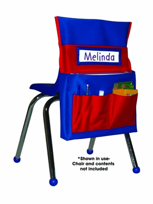 Chairback Buddy Blue and Red