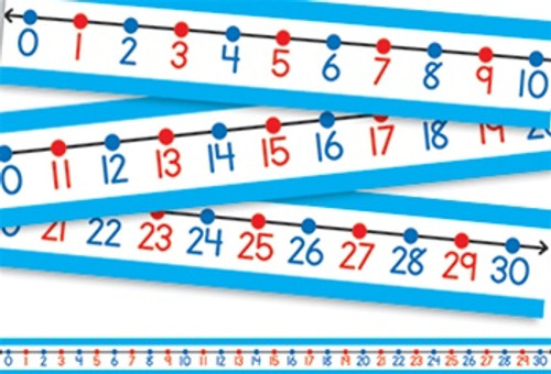 Student Number Lines 30/Pk