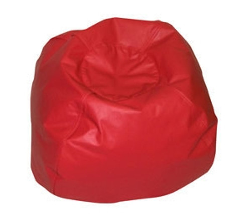 Round Red Bean Bag - 35 in.