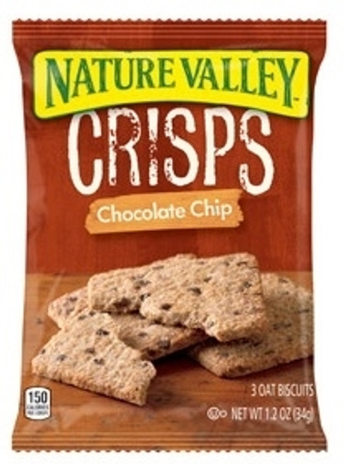 Nature Valley Crisps Chocolate Chip Biscuits 1.2oz