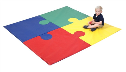 Square Puzzle Mat - 72 in. x 72 in. x 1 in.