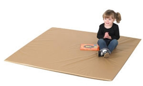 Two Tone Activity Mat Walnut and Almond - 52 in. x 52 in. x 1 in.