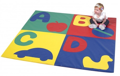 ABC Crawly Primary Mat - 60 in. x 60 in. x 1 in.