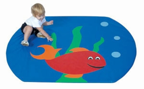 Fish Bowl Activity Mat - 60 in. x 48 in. x 1 in.