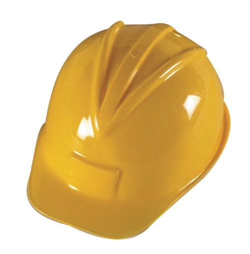 Construction Hard Hat - 10.5 in. x 7.5 in. x 5 in.