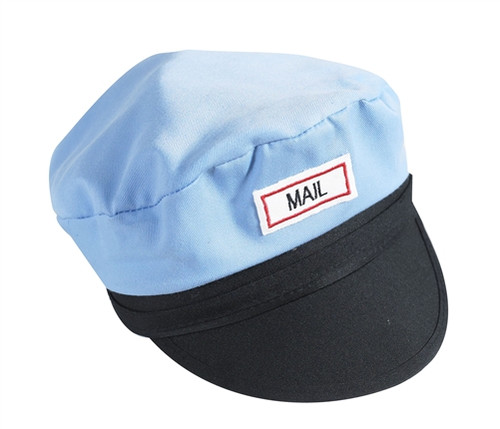 Mail Carrier Hat - 10 in. x 9 in. x 5 in.