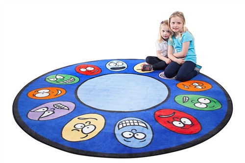 Expressions Small Round Carpet - 78 in. x 78 in.