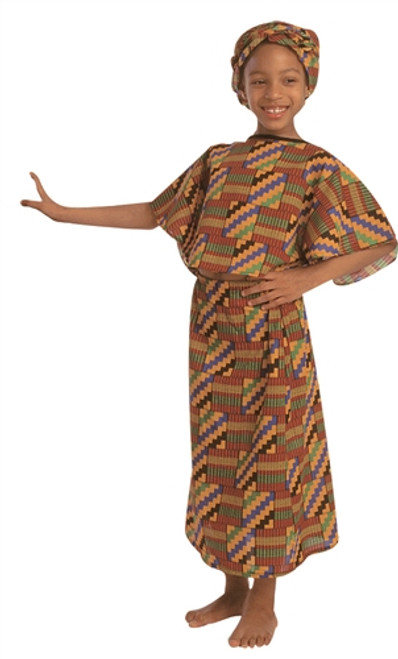 West African Girl Costume