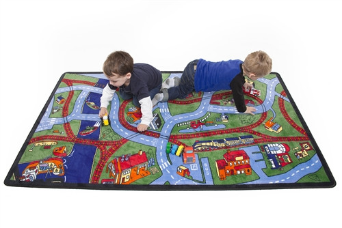 Highways and Byways Rectangular Carpet - 70 in. x 56 in.