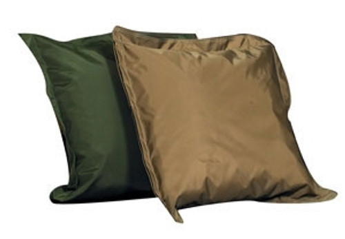 Indoor and Outdoor Pillow Set Forest Green and Tan - 27 in. x 27 in. x 6 in.