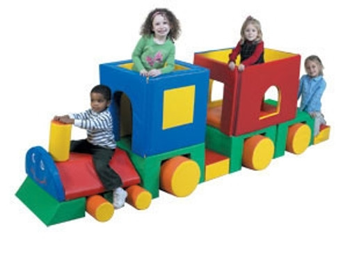 Little Train with Caboose - 126 in. x 32 in. x 38 in.