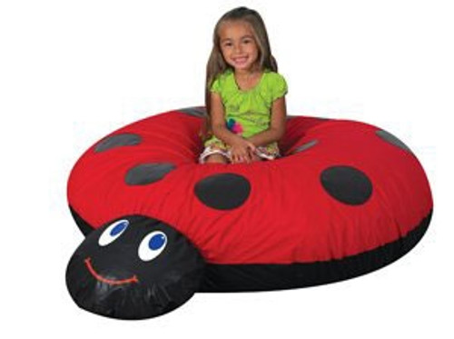 Mama Ladybug Pillow - 61 in. x 50 in. x 15 in.