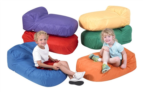 Set of 6 Cozy Pod Pillows - 36 in. x 20 in. x 12 in.