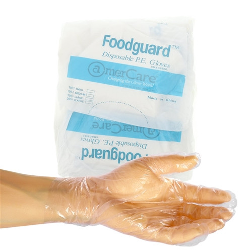 PE Food Service Small Gloves - MASTER CASE