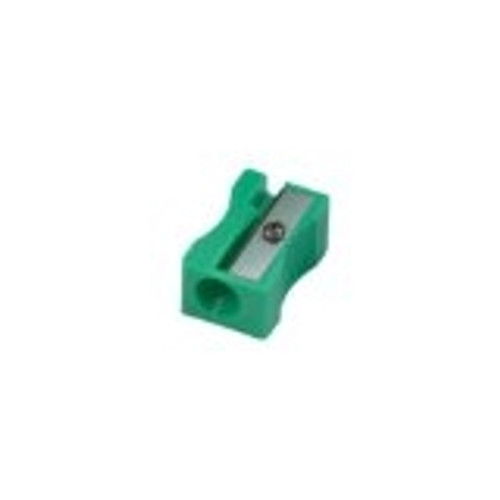 One Hole Plastic Pencil Sharpener Assorted Colors