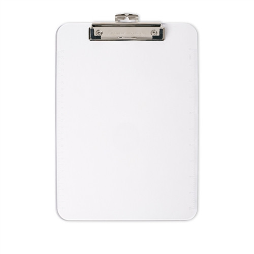 Letter Size Plastic Clipboard Clear